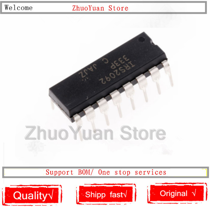 5PCS New Original IRS2092 IRS2092PBF DIP-16  IC Chip