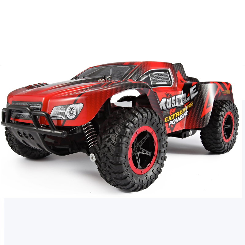 1:18 4WD 2.4GHz Electric RC Car Rock Crawler Remote Control Toy Car Radio Controlled 4x4 Drive Off-Road Toys For Boys Kids Gift