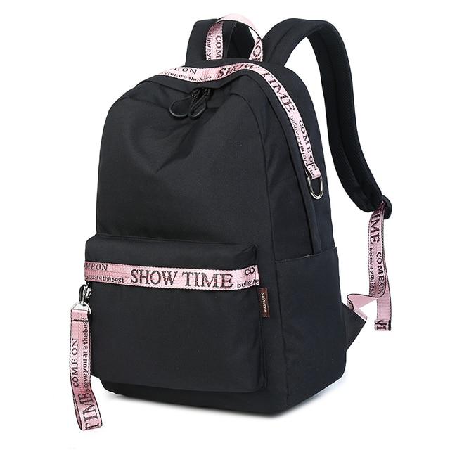 c6561fc9c2c80 Moda wodoodporna tkaniny plecak na laptopa kobiety młodzieży duża pojemność  Ulzzang szkoła torba dla nastolatków dziewczyny