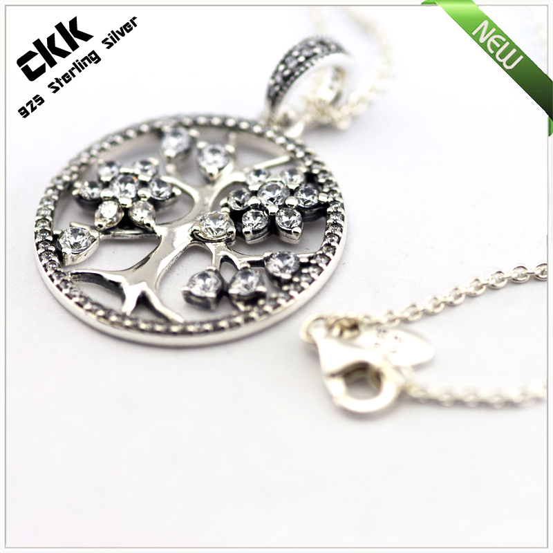Aliexpress buy family tree pendants and necklaces 925 aliexpress buy family tree pendants and necklaces 925 sterling silver fine jewelry free shipping from reliable necklace free shipping suppliers on aloadofball Choice Image