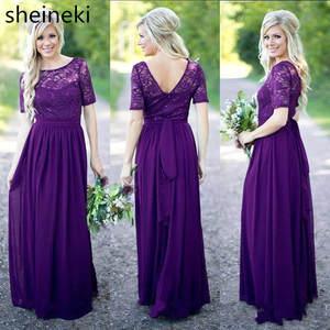 dcd696d41ccf top 10 most popular purple a line bridesmaid dress list