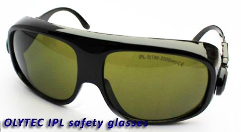 IPL safety glasses with IPL-3 (190-2000nm ) CE ipl safety glasses ipl 3 190 2000nm ce for laser beauty machines