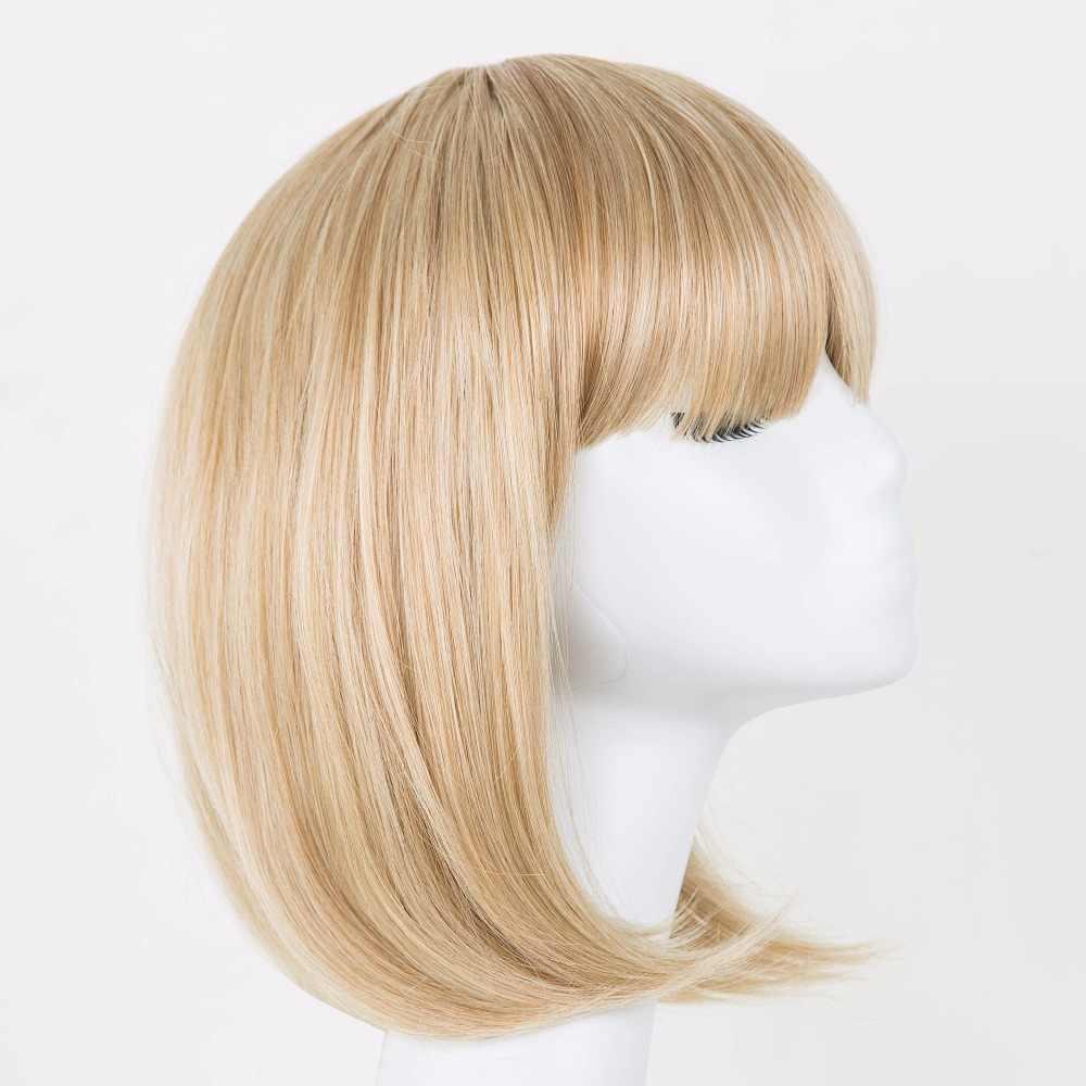 פיי-להראות פיי-להראות פאת בלונדינית פוני חום סינטטי סיבי טמפרטורה גבוהה שיער גלי בוב קצר נשים הפאה קרנבל