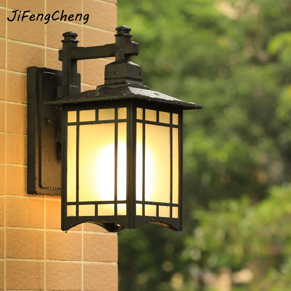 E27 Outdoor Lighting Waterproof Wall Lamps/Industrial Wall Sconces/Retro Glass Wall Lamps LED Corridor/Aisle/Gate/Garden Lamp free shipping outdoor lighting vintage outdoor wall lamps garden light bedroom wall lighting aisle wall sconce outdoor lamp