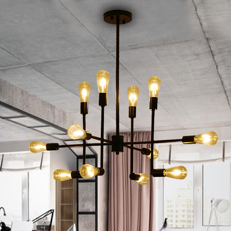 Industrial  pendant lights loft retro lamp lampara vintage Lamp E27 copper light for living room bar cafe restaurant lighting copper retro loft vintage wall lamp