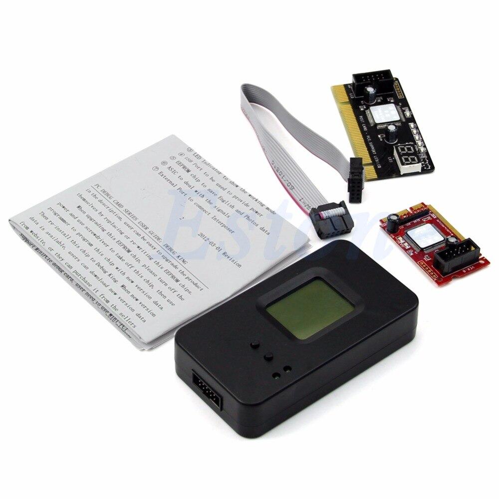 Debug Diagnostica PCI/Mini PCI-E/LPC/PCI/Mini Test Post Card Per Il Computer Portatile Desktop