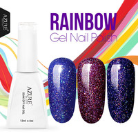 AZURE BEAUTY 3pcs Lot UV Gel Nail Polish Neon Color UV Lamp Soak Off Gel Polish