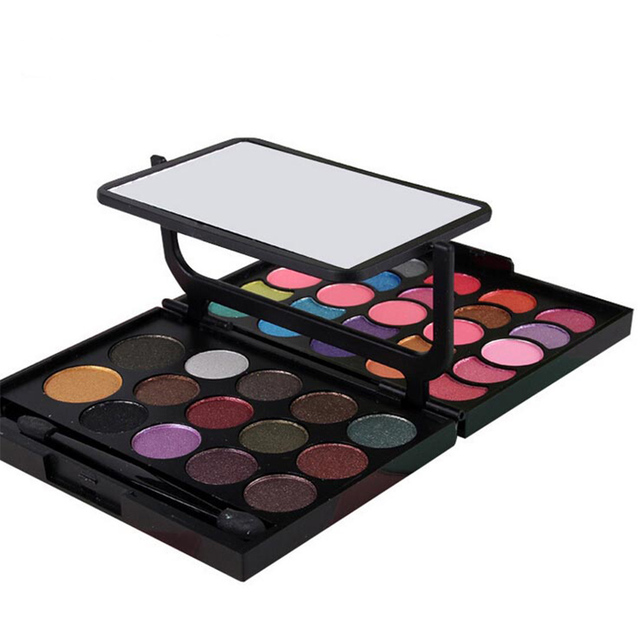 New Arrival 39 Fashion Shimmer Matte Colors Pigment Eyeshadow Palette Cosmetic Makeup Eye Shadow for Women Top Quality Beauty