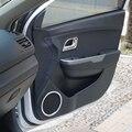 ABS автомобилей наклейки аудио круг прикреплены дверные колонки и внутренней ручки крышка автомобильные Аксессуары Для Kia RIO K2 2011 2012 2013 2014