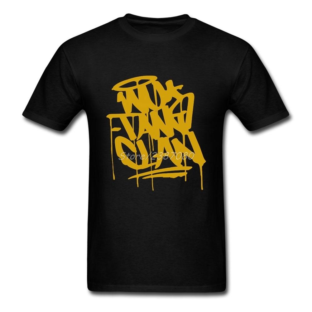 Wu Tang Clan T Shirt Cotton Short Sleeve Custom Men T Shirt Hiphop Vintage Big Size Funny T-shirts