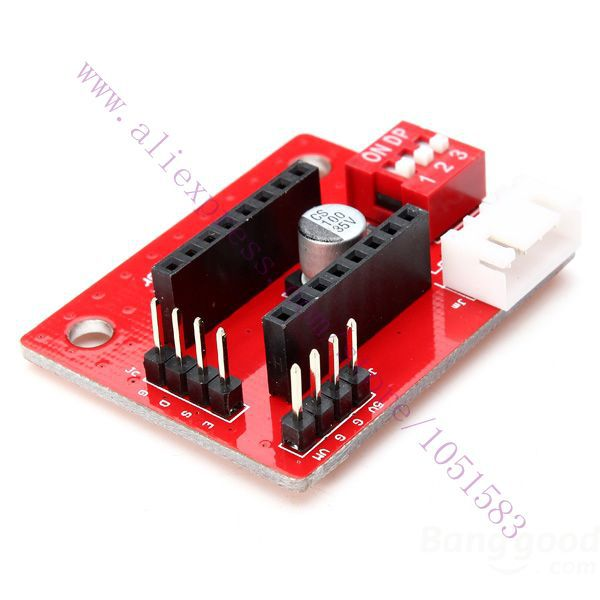 2pc /Lot A4988 / DRV8825 3D Printer Stepper Motor Driver Control Extension Panel
