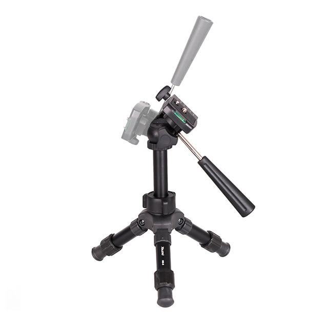 XILETU XB-2 Mini Tabletop Tripod Flexible Portable For DSLR Nikon Digital Camera with Three Dimensional Panoramic Tripod Head 3