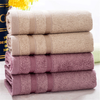 4piece packaging Superior bamboo fiber towel soft towel soft comfortable adult men and women sports towel