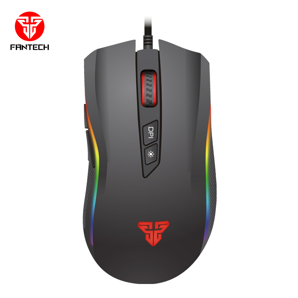 Image 5 - FANTECH X4S RGB Adjustable 4800 DPI 6D Buttons Macro Cable Mouse Professional Wired Gaming Mouse For EPS LOL In Mouse Gmaer-in Mice from Computer & Office