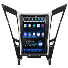 2019 new come!Vertical Screen Tesla Style Android 8.1 Car DVD GPS Navigation Player radio for Hyundai sonata 2012 2013 2014