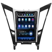 2019 new come!Vertical Screen Tesla Style Android 8.1 Car DVD GPS Navigation Player radio for Hyundai sonata 2012 2013 2014