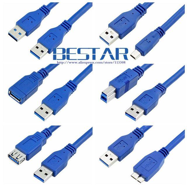 Mini USB 3.0 Micro B USB 3.0 Cable BM USB3.0 Male to Female ...