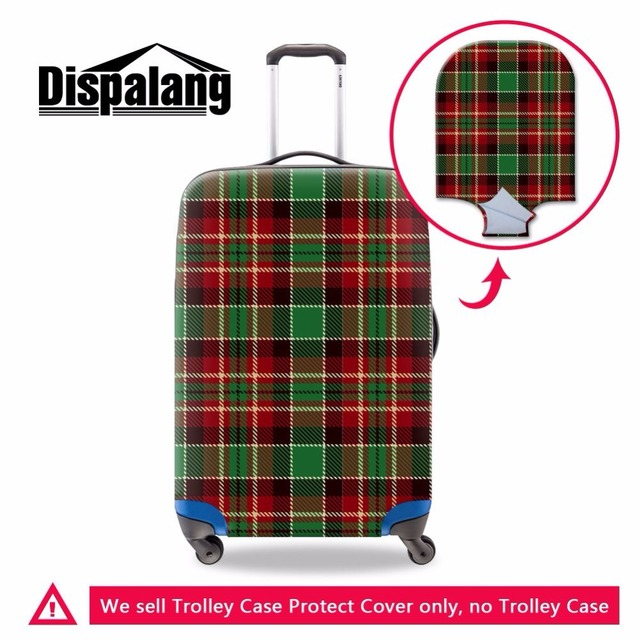 Dispalang Excellent Elastic Trolley Luggage Cover Travel Suitcase Protective Dust Cover Rain Cover For 18-30 inch Trunk Case