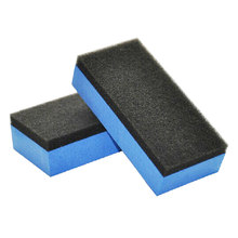 5Pcs Car Wash Sponge Car Film Coating and Crystal Coating Sponges Eraser Auto Maintenance Polishing Brushes Free Shipping(China)