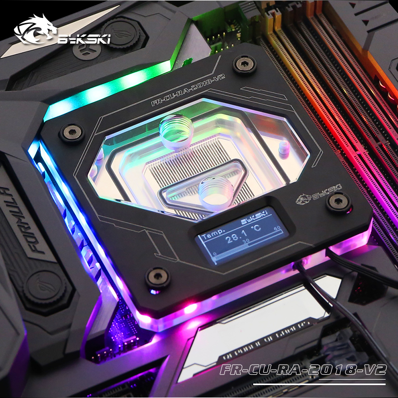 Bykski CPU Water Block use for INTEL LGA1150 1151 1155 1156 LGA2011 2066 X99 RGB A
