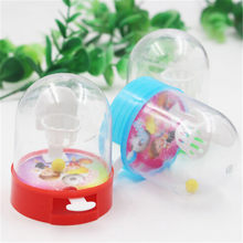 1Pc Hand Basketball Hoops Shooting Puzzle Funny Gift Cute PVC Plastic Small Mini Handheld Finger Ball Random Color Toy For Kids(China)