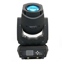 Neue Bühnenbeleuchtung Ausrüstungen 200 Watt Strahlfleck 2IN1 LED Moving Scheinwerfer LCD Display Mit drei facetten prisma 8 Statische Gobos|Bühnen-Lichteffekt|   -