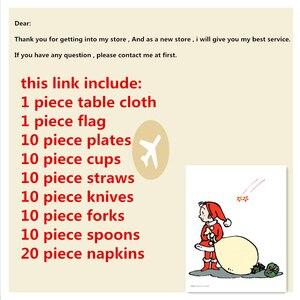 Image 2 - 82 Stk/set Kid Verjaardagsfeestje Supplies Prinses Tafelkleed Plaat Cup Servet Princesa Baby Shower Servies Decoratie Favor