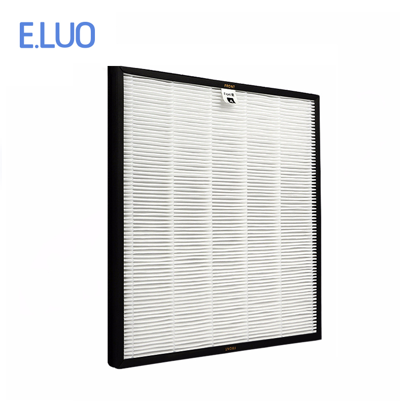 H12 Hepa Filter For  Pwc-570 Air Purifier Filter To Filter Dust ,pet Hair Etc With 365*382*25mm