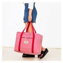 Size Medium Waterproof Men Travel Bag Fashion Oxford Soft Zi