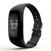 A prueba de agua smart watch g-sensor sensor del ritmo cardíaco de bluetooth para android ios iphone samsung lg compacto smartwatch