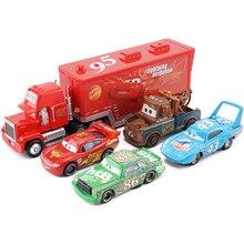 Дисней Pixar Тачки 2 3 Молния Маккуин набор Джексон шторм Круз Рамирез 1:55 литой под давлением сплав модель автомобиля подарок на день рождения мальчик малыш игрушка