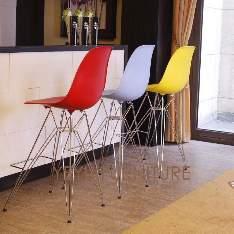 Phenomenal Us 155 0 Replica Minimalist Modern Design Plastic And Metal Steel Bar Chair Bar Stool Furniture Living Room Nice Popular Counter Stool In Bar Chairs Lamtechconsult Wood Chair Design Ideas Lamtechconsultcom