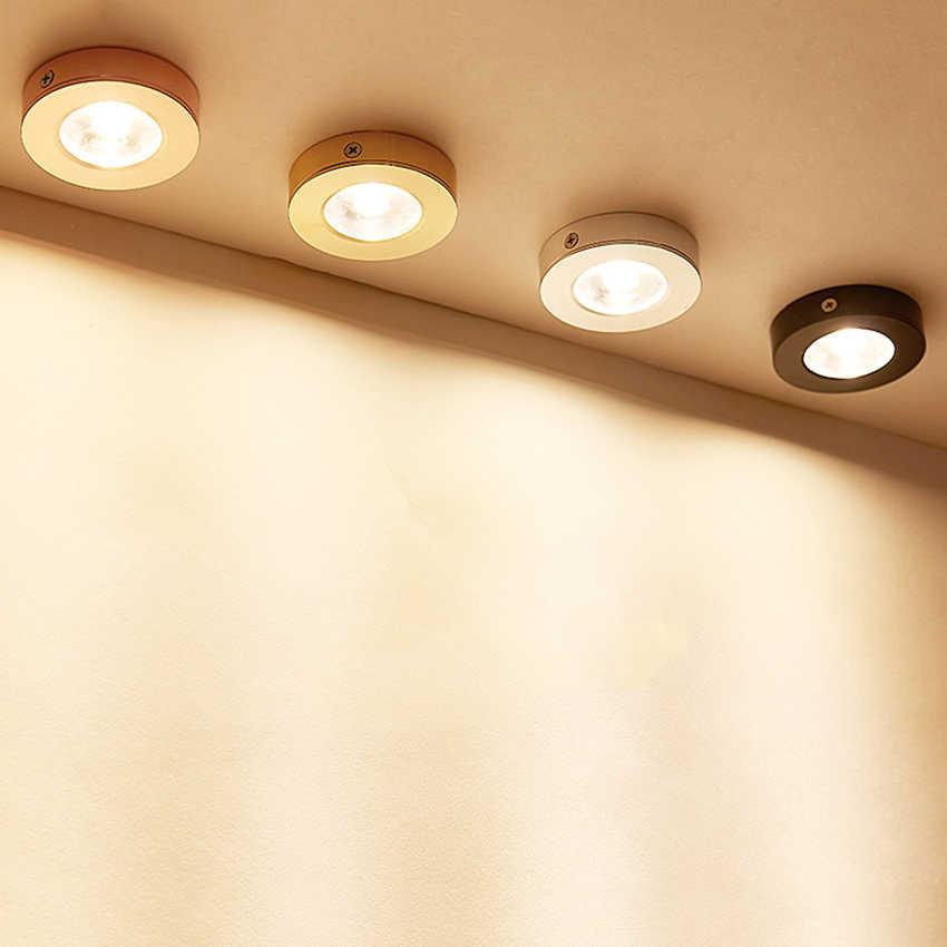 Современные алюминиевый локальный светильник СД поверхностного монтажа Потолочные светильники AC85-260V пятно света для гостиная спальня прихожей BL991