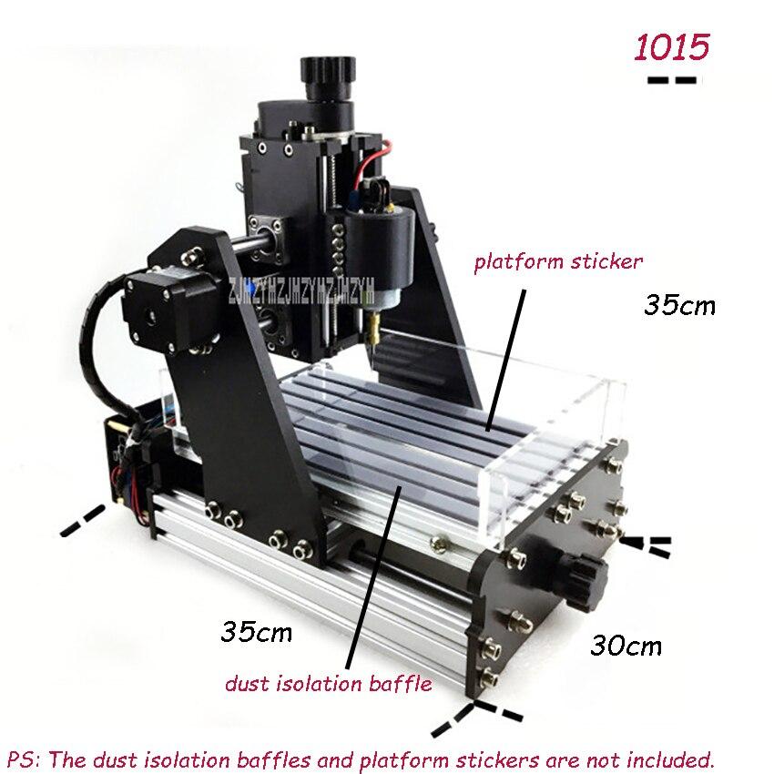 1015 CNC Three-Axis Micro-Engraving Machine DIY Mini Wood Router Mechanical Engraving Machine Mini PCB Milling Machine 45W/220W