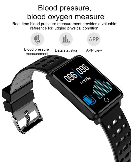 F3 Digital Smartwatch New Intelligent Wristwatch Waterproof Sports Smart Watch Heart Reat Pedometer For iPhone Android Men Clock