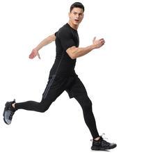 Рашгард Для mma набор для фитнеса колготки Мужская компрессионная