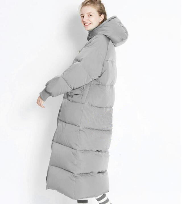 Hooded Long   Down     Coat   Women Winter Duck   Down   Jacket Thick Women   Down     Coat   Custom Made Any Size