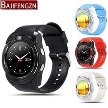 Q7 bluetooth smart watch para el teléfono android soporte sim podómetro reloj inteligente reloj deportivo pk gt08 q18 a1 pantalla redonda