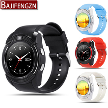 Q7 bluetooth smart watch for android phone support SIM Pedometer reloj inteligente sport wristwatch PK gt08 Q18 A1 Round screen