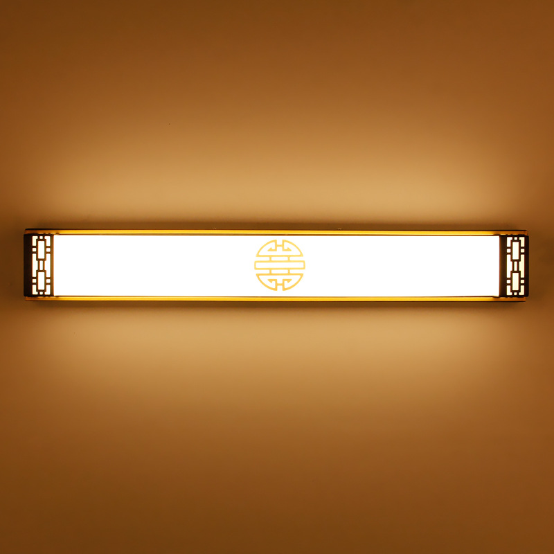 New Waterproof Vintage Chinese Style Acryl Led Mirror Light For ...