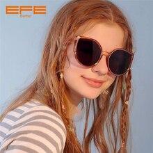 EFE Oversized Cat Eye Women Sunglasses Vintage Brand Designer Sun Glasses Mirror Shades Female Oculos De Sol Feminino BS8016 стоимость