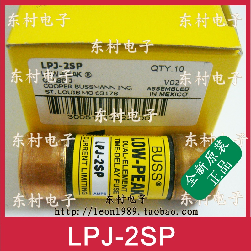 [SA]US COOPER BUSSMANN fuse LOW-PEAK fuse LPJ-2SP LPJ-2-1 / 4--3PCS/LOT держатель ellux avantgarde ava 064