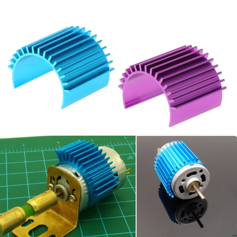 Aluminum <font><b>Heatsink</b></font> Suit with 370 380 <font><b>Motor</b></font> for 1:18 On/Off Buggy <font><b>RC</b></font> Vehicles & Remote Control Toys image