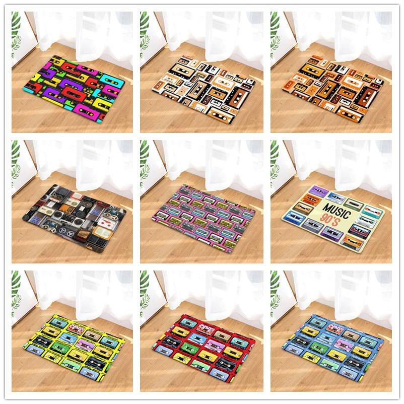 Deurmat Tapijten Magnetische Tape Print Matten Vloer Keuken Badkamer Tapijten 40x60or50x80cm Goed Voor Energie En De Milt