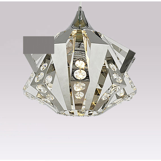 13 Stainless Steel Crystal inlaid Diamond Living Room Pendant Lamp Free Shipping Modern Bedroom Dining Room Pendant lamp