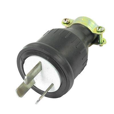 AU 3 Pins Power Cord Adapter Electric Plug Black AC 250V 10A at91sam7s128 au at91sam7s128