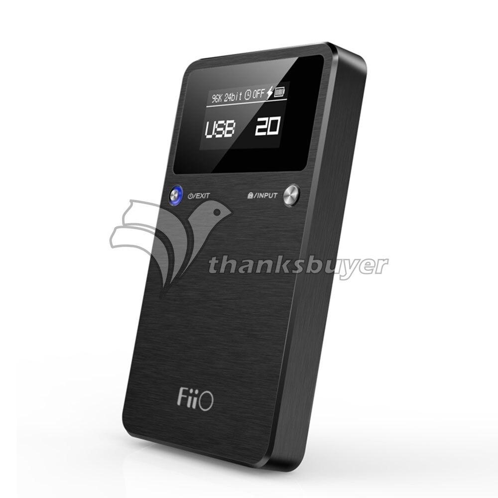 Portable USB DAC Amp Headphone Amplifier Fiio E17K 192kHz 24 bit HIFI Lossless MP3 Player
