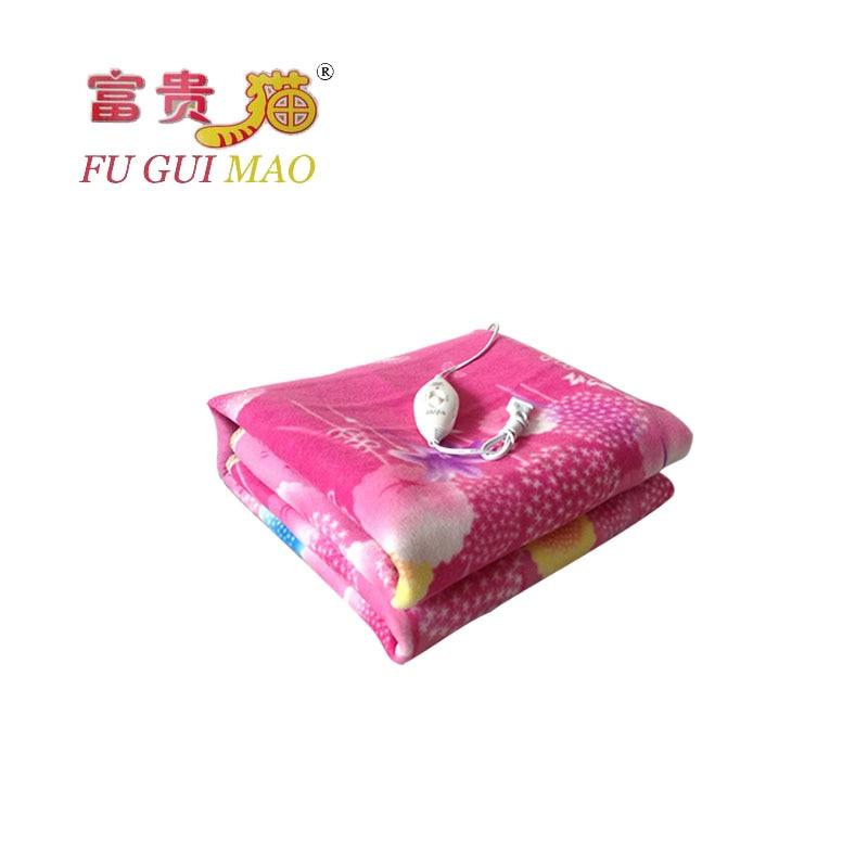 ᑎ‰FUGUIMAO Manta Electrica 220v Electric Heating Blanket Plush