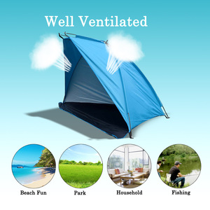 Image 5 - TOMSHOO Outdoor Sports Sunshade Tent for Fishing Picnic Beach Park Camping Tent Tents Outdoor Camping Tent Travel