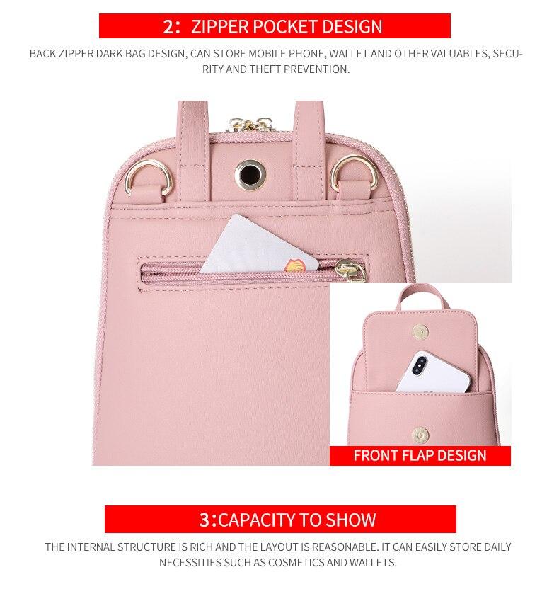 HTB1TXGrajDuK1Rjy1zjq6zraFXa1 WEICHEN Multi-Function Women Backpack Fashion Small Backpack Female Leather Ladies Shoulder Bag Girl Satchel Mini Mochila Purse
